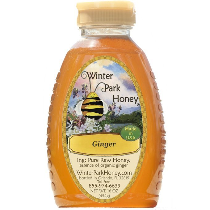 Ginger Honey 16 oz.
