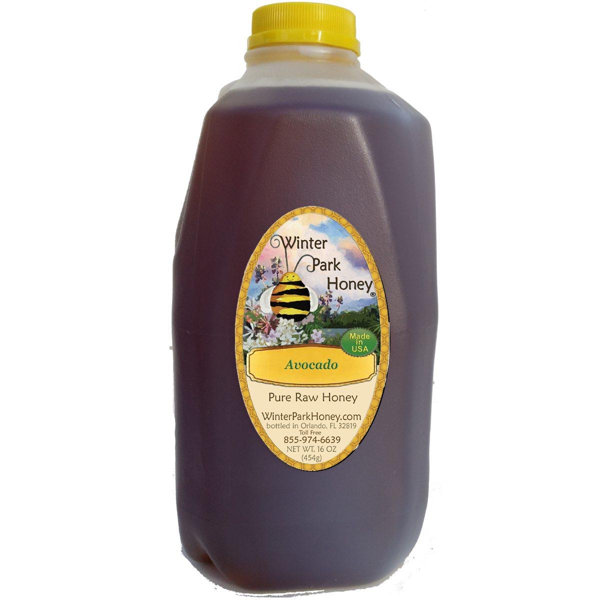 Avocado Honey - 80oz Kosher