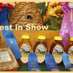 Best of Show Award Winning Winter Park Honey