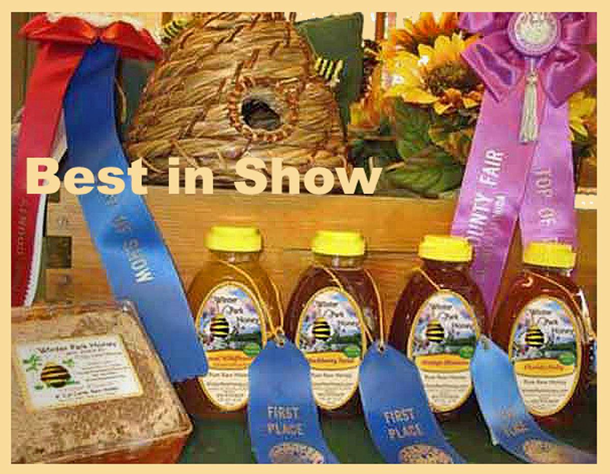 Best of Show Award Winning Winter Park Honey