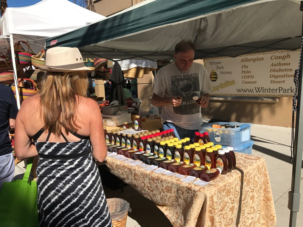 Winter Park Honey Market Stand