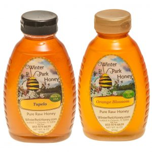 Orange Blossom Honey and TUpelo Honey