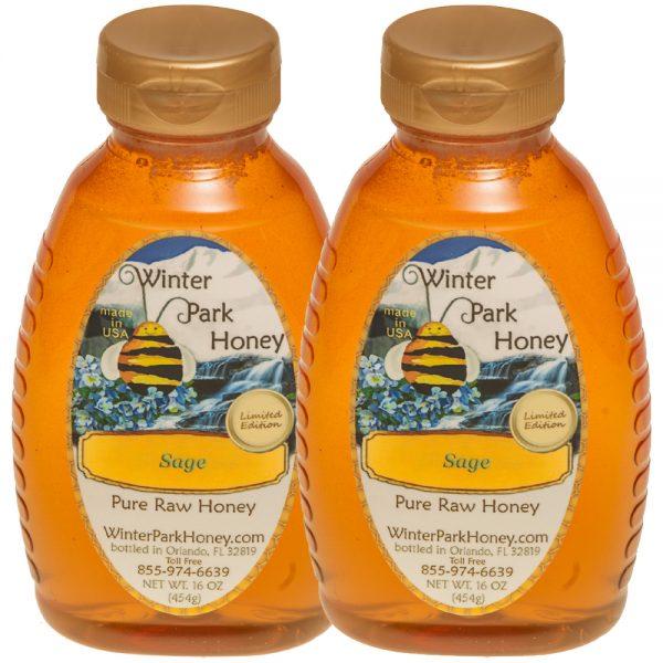 2 bottles blackberryhoney