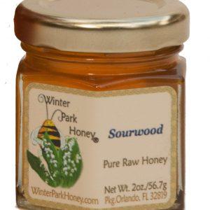 pure raw sourwood honey