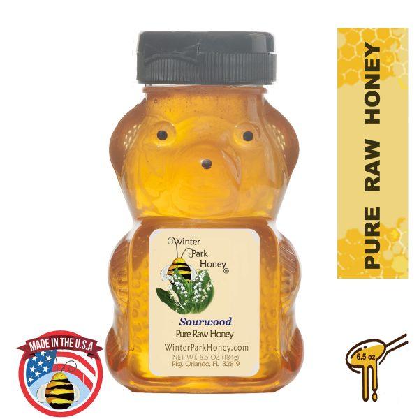sourwood honey bear