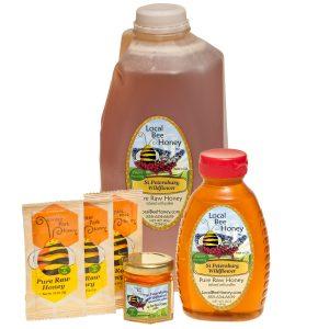 Pure raw St Peteresburg Florida Wildflower Honey