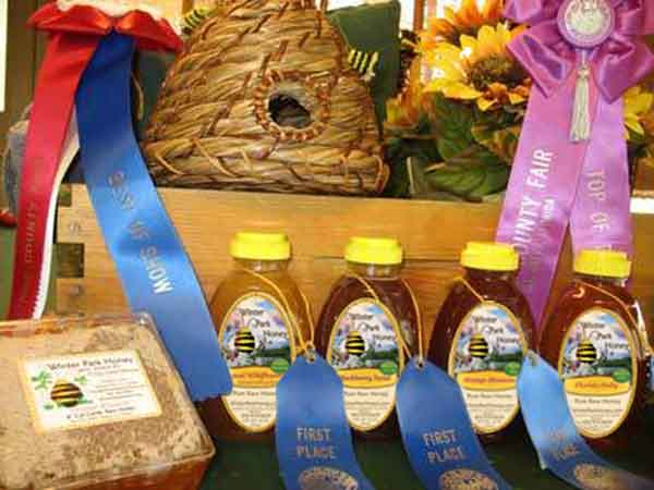 Award-Winning Honey