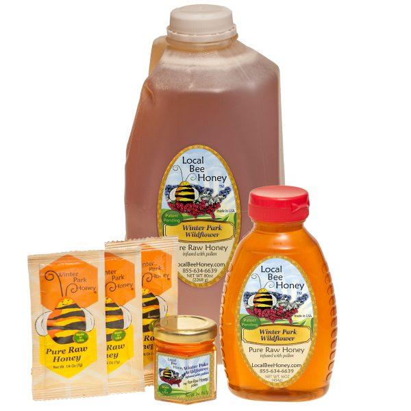 Pure raw Winter Park Florida wildflower honey