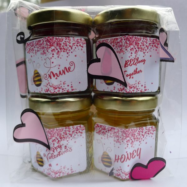 Valentine's Day Gourmet Honey Sampler