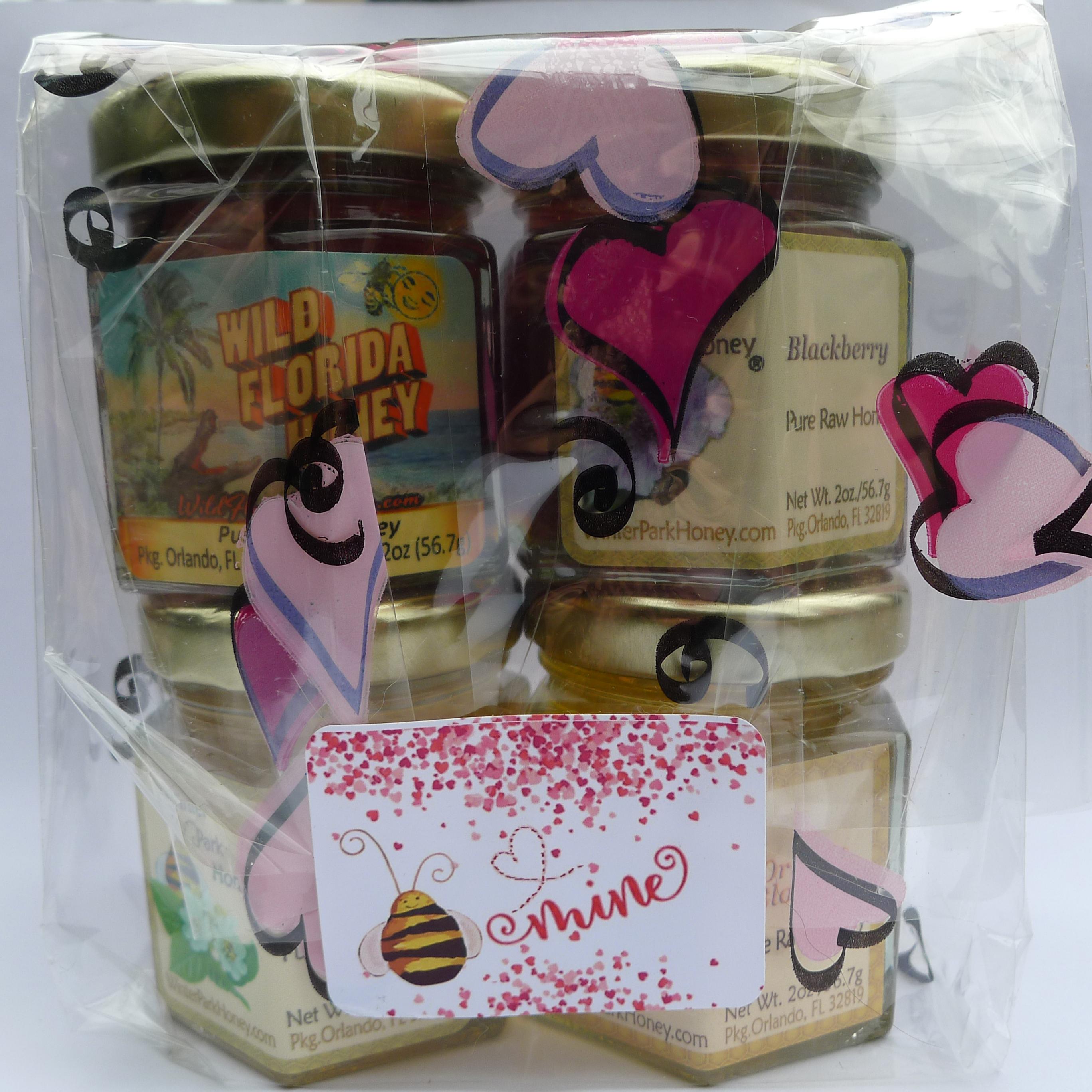 Valentine's Day Gourmet Honey Sampler
