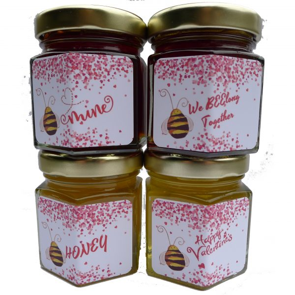 Valentines Day Honey Sampler