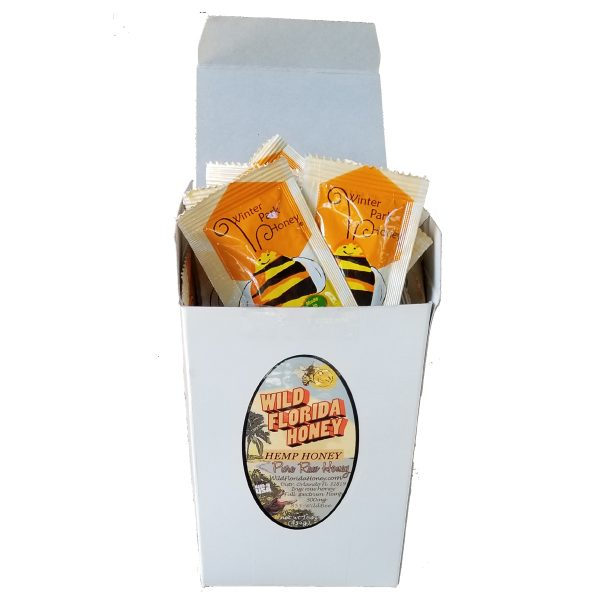 hemp cbd honey single serve packets