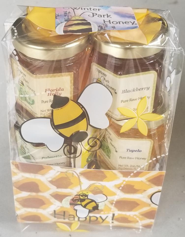 florida honey sampler gift set