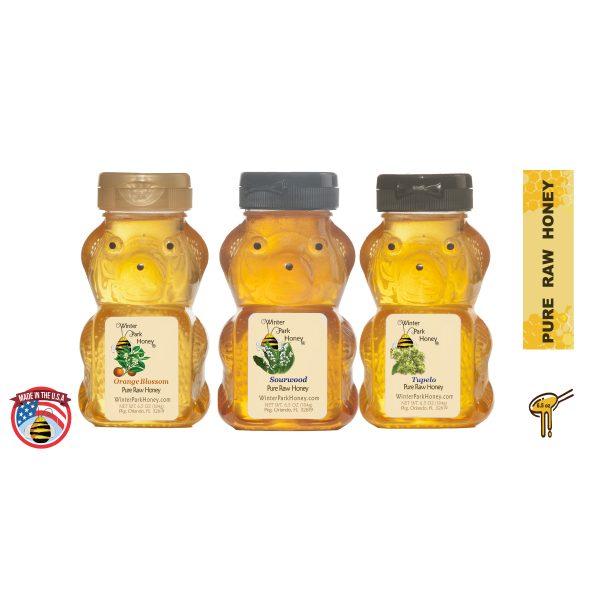 honey bear trio