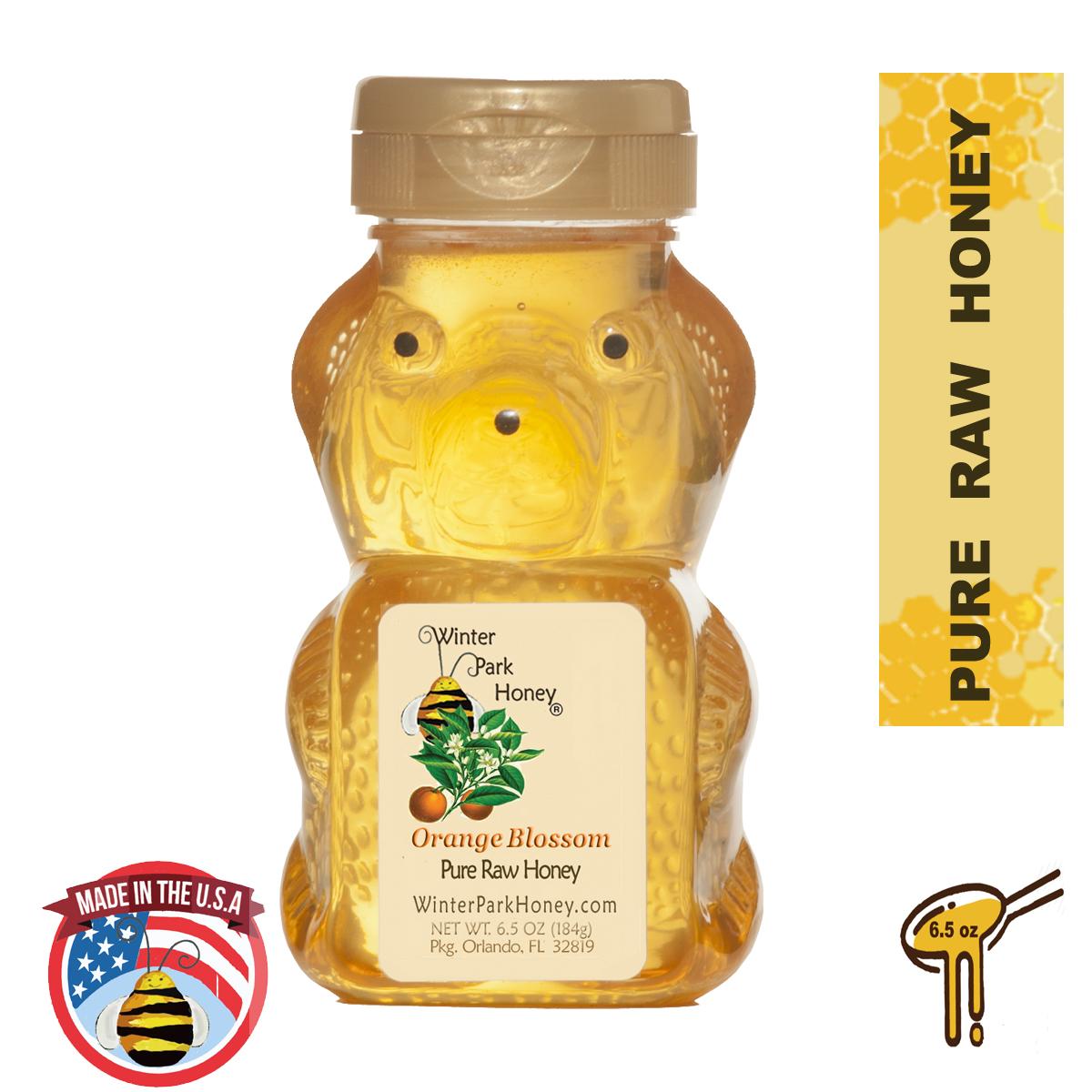 orange blossom honey bear