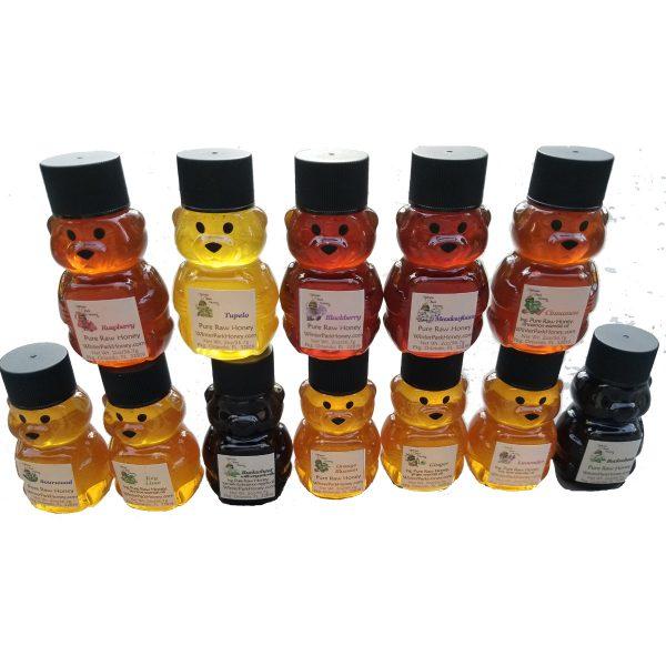 12 2oz winter park honey bears