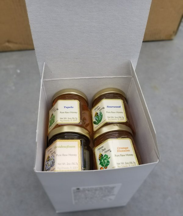 winter park honey sampler in a box