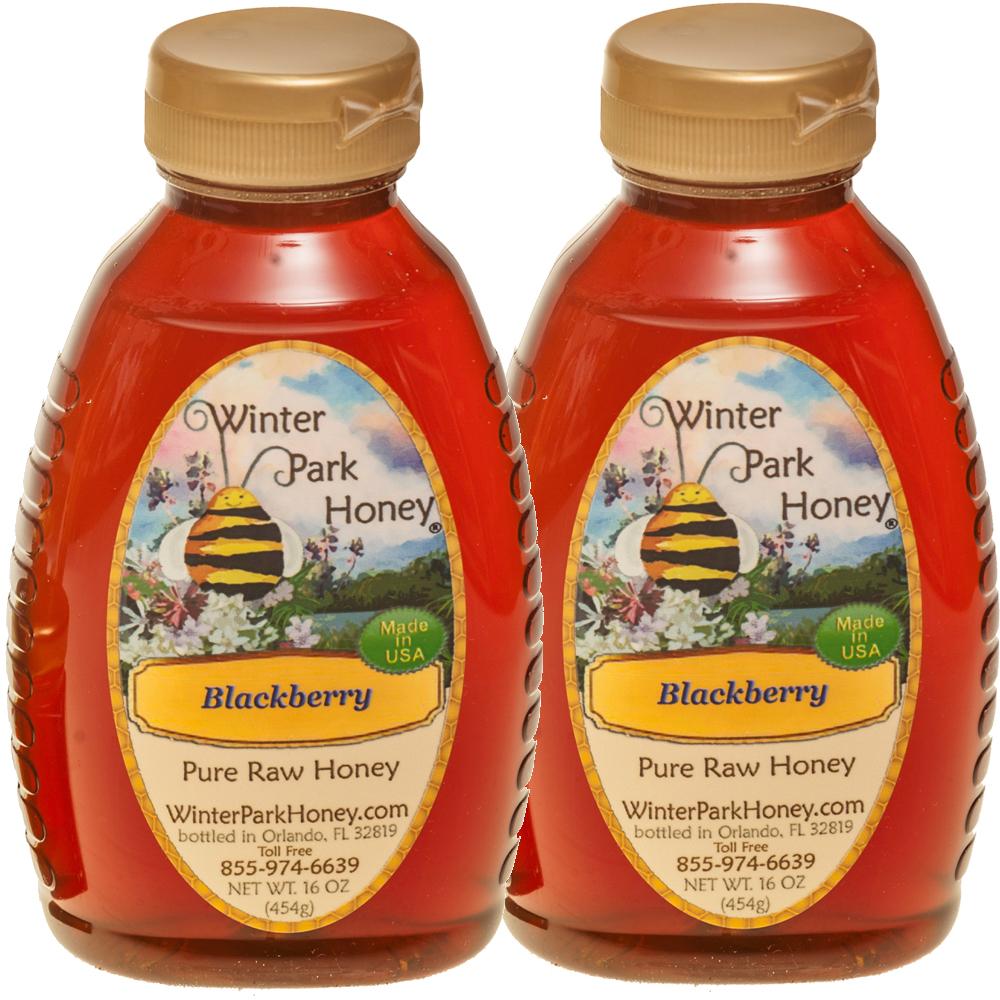 Blackberry honey buy two